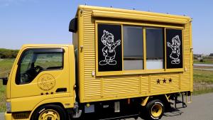 「道の駅とよはし」でオリジナルキッチンカーでの実食販売スタート!