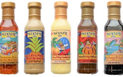 オリジナル調味料「MINATO HAWAII 」5種類販売開始しました!